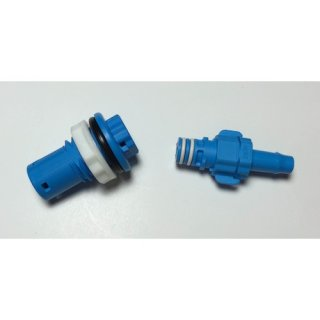 Quick Connect Bulkhead Fitting 8mm