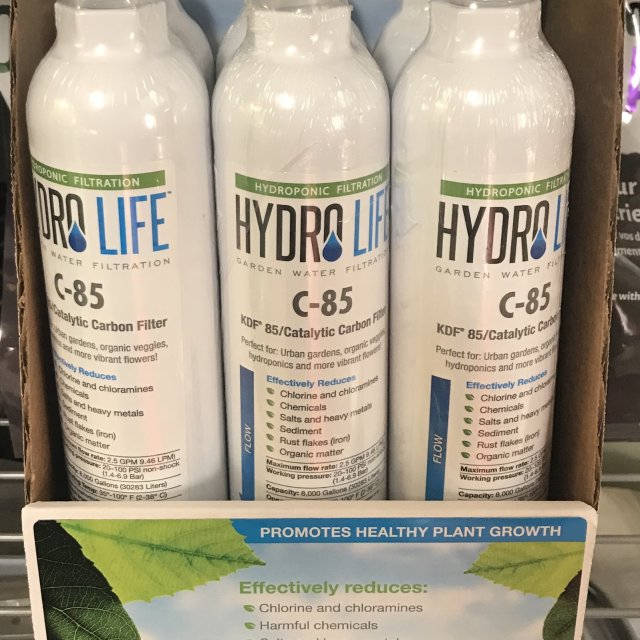 Hydro LIfe C-85 Catalytic Carbon Filter