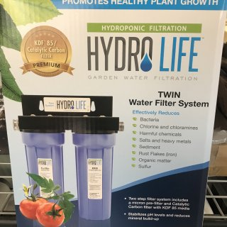 Hydro Life Twin Filter System