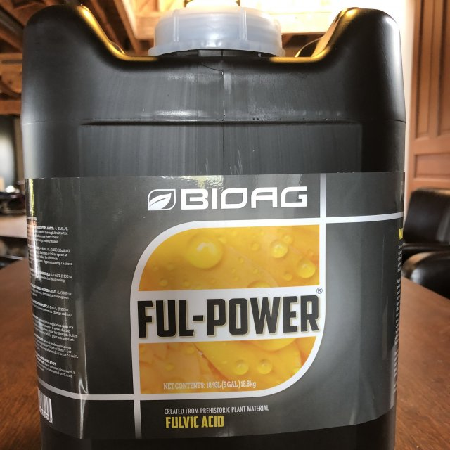 Fulvic Acid BioAg Full-Power Liquid
